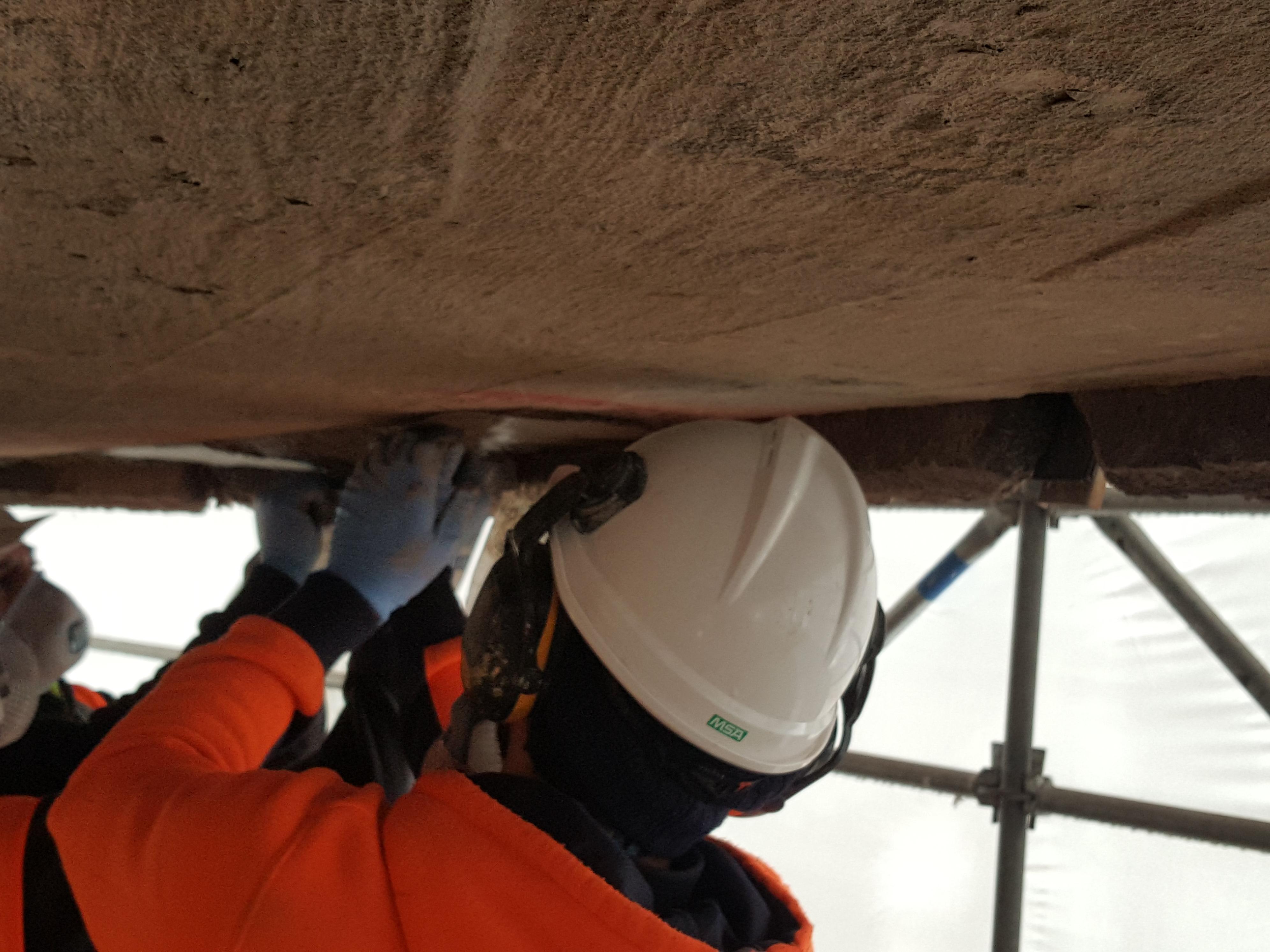 AIA Tower repair